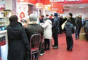 Наплыв покупателей из Беларуси в Смоленск сократился