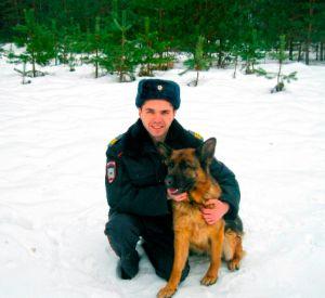 Собака помогла сыщикам поймать грабителя