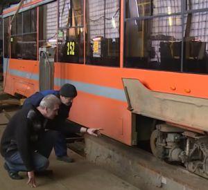 Куда исчезли «рыжие» трамваи (видео)