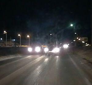 Регистратор смолянина запечатлел опасное вождение (видео)