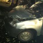 Автомобилистка под Смоленском протаранила фуру