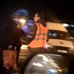 В Смоленске автомобиль сбил ребенка. В сети появилось видео