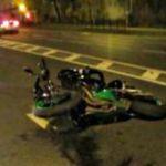 Пассажирка мотоцикла после аварии попала в больницу