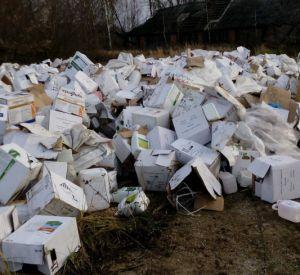 В Смоленской области обнаружена свалка отходов ядохимикатов
