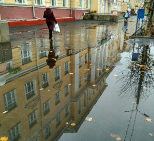 Новый тротуар не выдержал проверку дождями