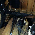 Хозяин дома спас семью от крупного пожара