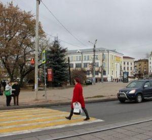 Смоленские пешеходы нарушили правила 823 раза за 10 дней