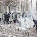 Полицейские пресекли массовые беспорядки