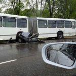 Подробности страшной аварии на Витебском шоссе