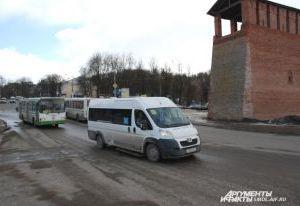 За неделю в Смоленской области оштрафовали 300 водителей маршруток