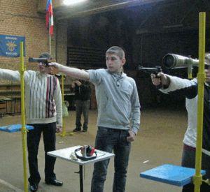 Смоленские школьники соревновались в стрельбе