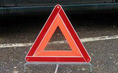 Пассажир пострадал в опрокинутом автомобиле Nissan Tiida на трассе М-1 под Смоленском