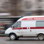 Карета скорой помощи не пропустила ребенка (ВИДЕО)