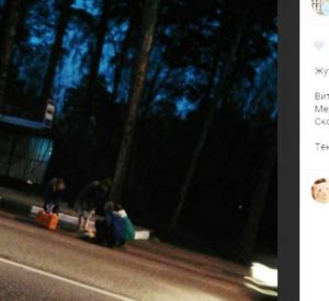 На автобусной остановке обнаружено тело