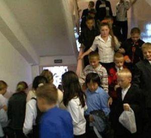 Из здания школы эвакуировали детей