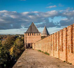 На смоленской крепостной стене погиб турист