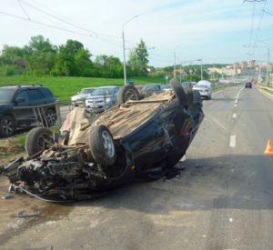 В Рославльском районе произошла авария