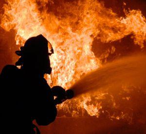 В страшном пожаре пострадал смолянин