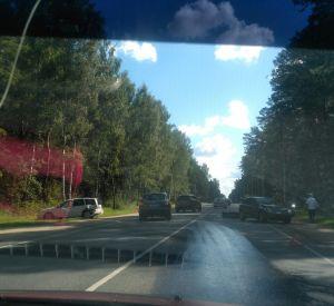 На Витебском шоссе произошла серьезная авария