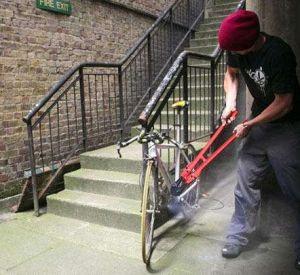 Серийный велосипедный вор пойман полицией