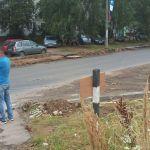 Жители микрорайона Ситники страдают от отсутствия остановки