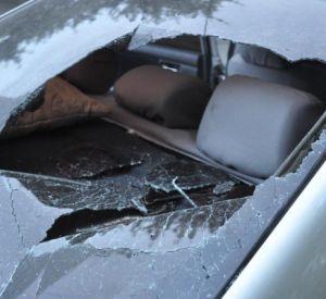 Хулиганы продолжают портить чужие автомобили (фото)