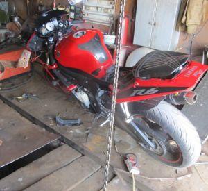 Житель Смоленска похитил мотоцикл у знакомого