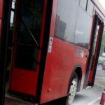 На Автозаводской воспламенился автобус №22