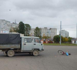 Велосипедист после столкновения с «УАЗом» скончался на больничной койке
