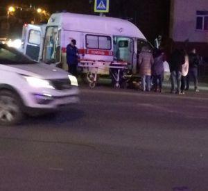 В Смоленске на перекрестке сбили подростка