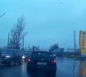 Автомобилисты  устроили потасовку на проезжей части