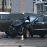 Жесткая авария произошла на проспекте Гагарина (фото + видео)