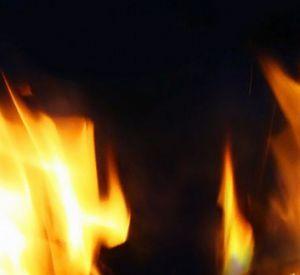 Две женщины едва не погибли во время пожара