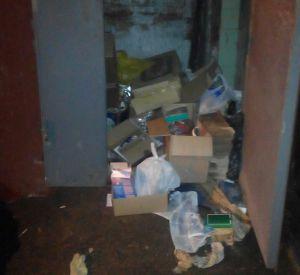 Управляющая компания забыла про вывоз мусора