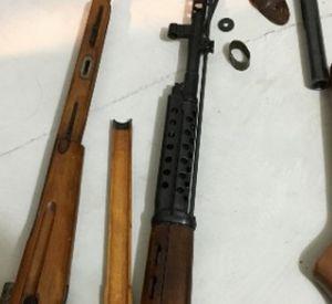 Видео: Бойцы Росгвардии помогли задержать  торговца оружием