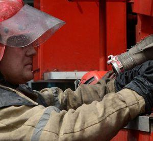 В Смоленске малолитражка загорелась во время движения