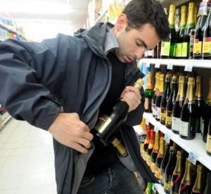 Любитель халявы специализировался на кражах алкоголя
