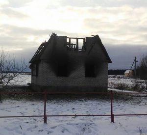 Семья осталась без крыши над головой в результате пожара