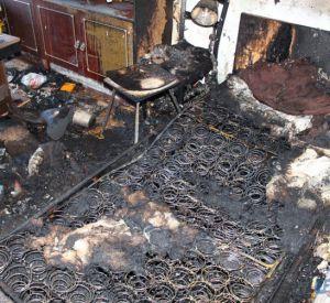 Зажжённая сигарета погубила жителя Смоленска