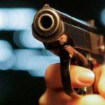 Уголовник устроил стрельбу в кафе