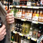 Молодой мужчина ограбил продуктовый магазин