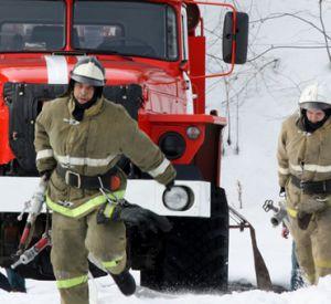 В Смоленске горело мебельное производство