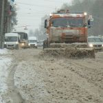 Уборка снега в Смоленске идет круглосуточно