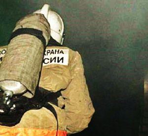 В Смоленской области морозной ночью загорелся жилой дом