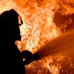 В Смоленской области ночью сгорел «Opel Omega»