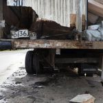 Смоленский грузовик в Керчи попал в серьезную аварию