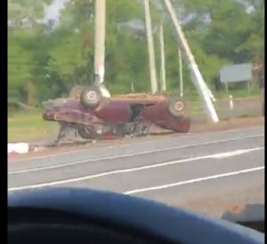 На видео попали последствия жуткой аварии