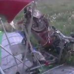 Видео: В Велиже с довольно серьезной высоты рухнул дельталет