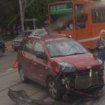 Серьезная авария оставила Заднепровский район без трамваев