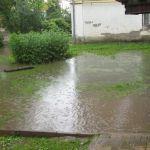 Ливень затопил четырехэтажный дом в Ярцеве